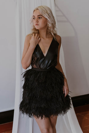 ITEM #19. The Ostrich Feather Skirt