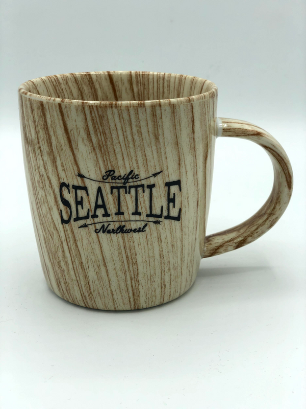 Wood Grain Ring Seattle Mug