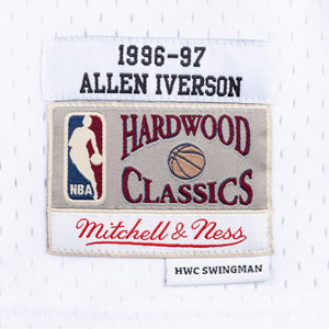 1996-97 YOUTH Allen Iverson #3 Authentic Swingman NBA Jersey