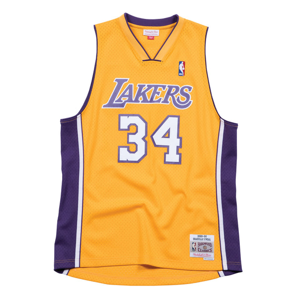 1999-00 YOUTH Shaquille O'Neal #34 Authentic Swingman NBA Jersey