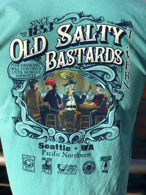Old Salty T-Shirt - Seafoam