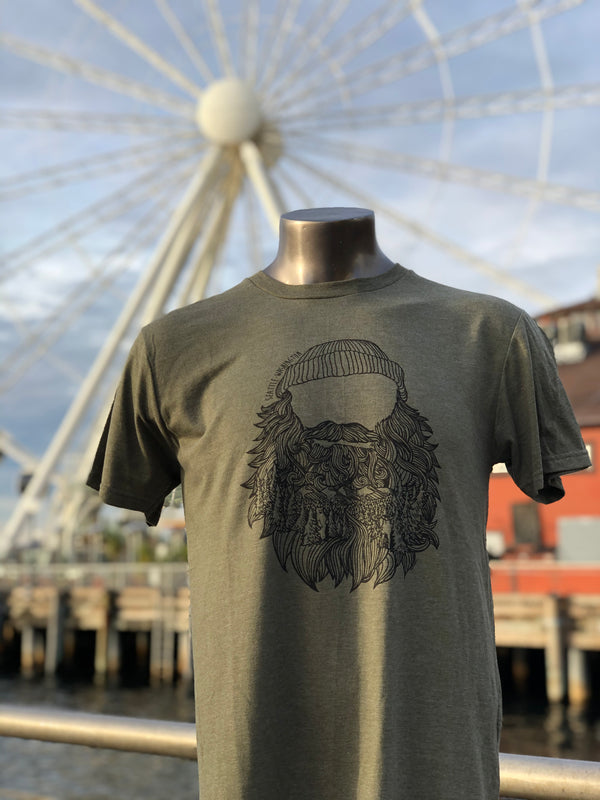 Into the Beard - Forest T-Shirt