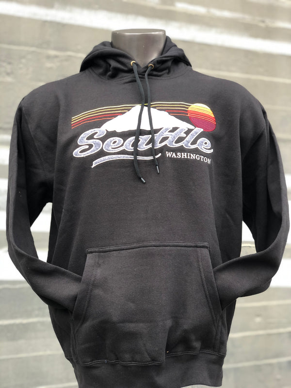 Back to the Future Hoodie - Black
