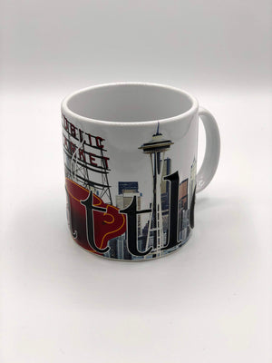 18 oz. Seattle Full Color Mug