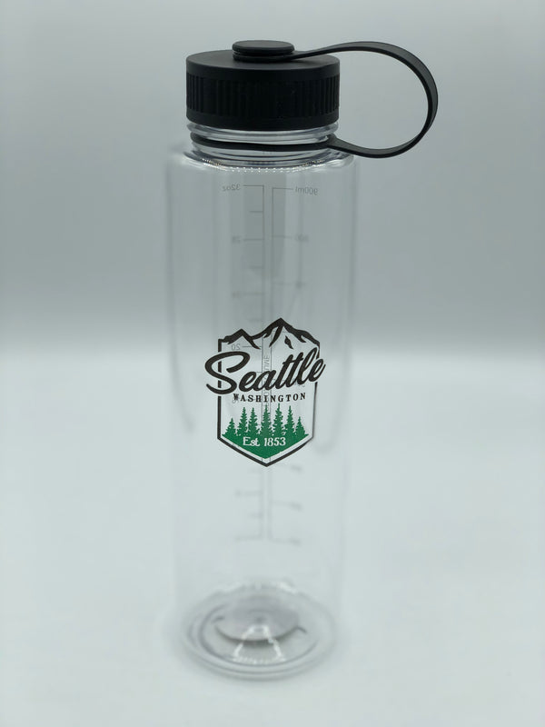 Mountain Top Clear Water Bottle