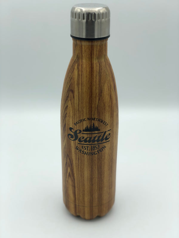 Into the Wild Stainless Golden Oak Water Bottle
