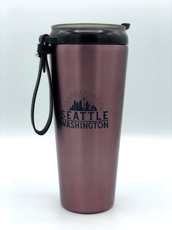 Vintage Destination 17 oz. Stainless Travel Thermos