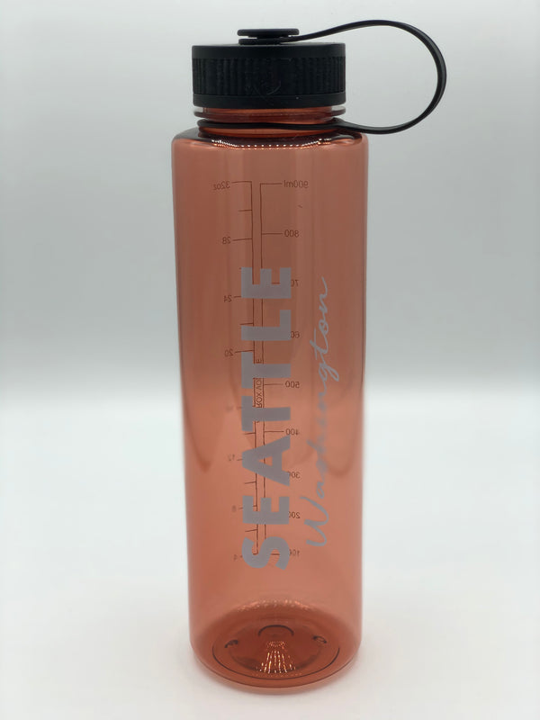 Think Pink 32 oz. Water Bottle