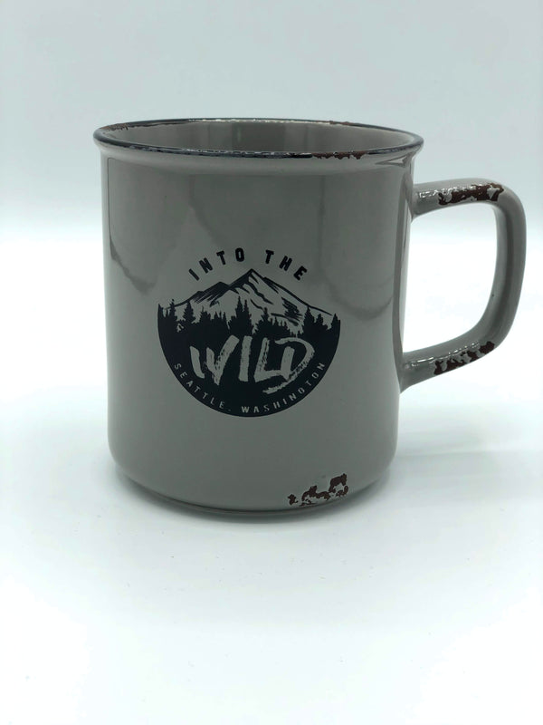 Into the Wild Grey Mug