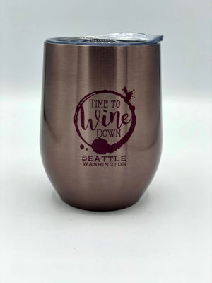 Wine Down Stainless Wine Thermos