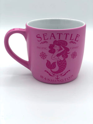 Pink Seattle Mermaid Mug