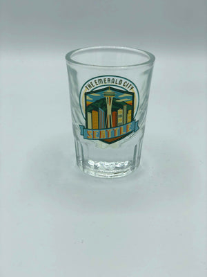 Emerald City Heavy Shot Glass