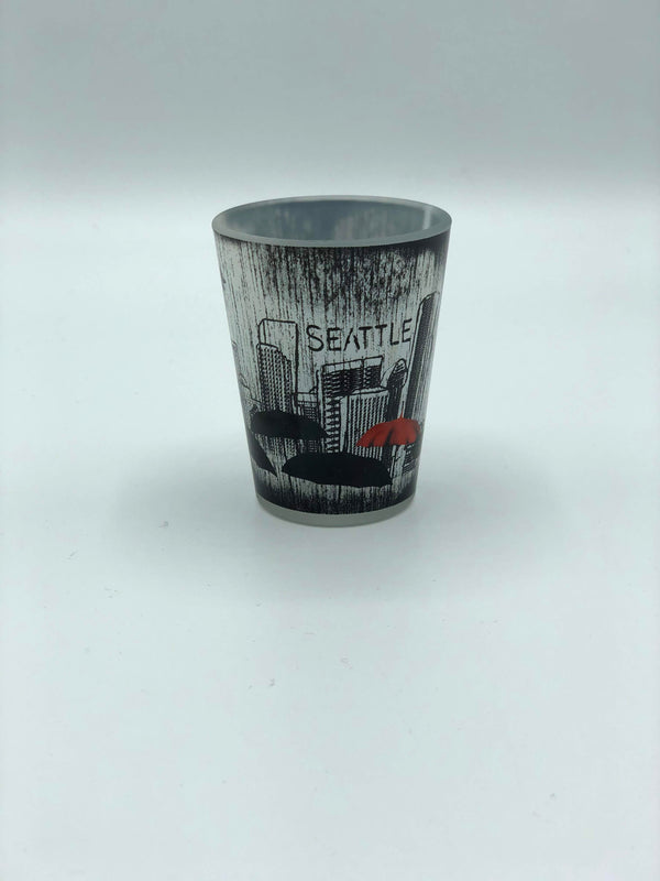 Seattle Umbrella Shot Glass
