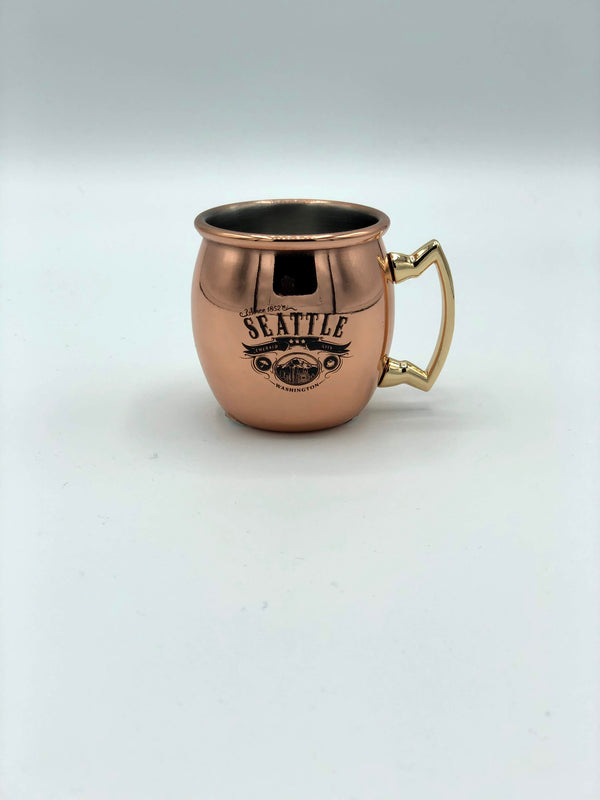 Copper Mug Shot Glass