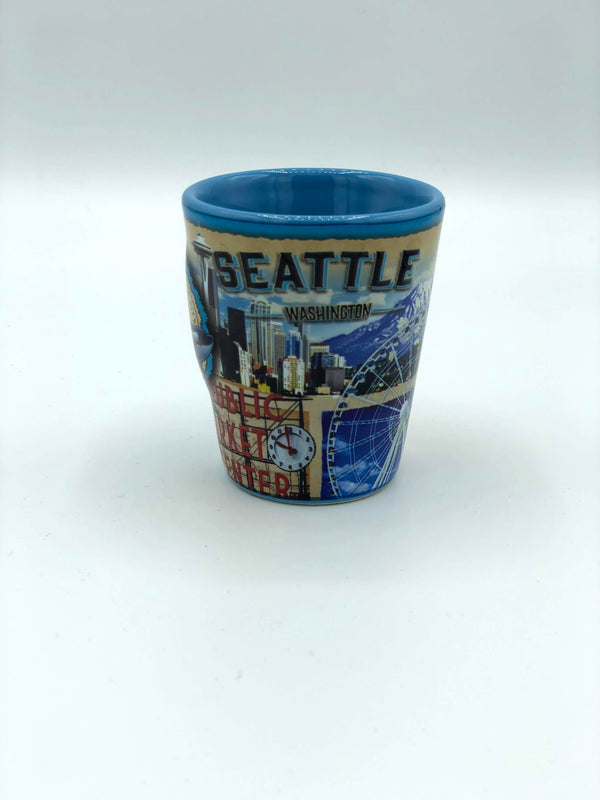 Seattle Icons Shot Glass