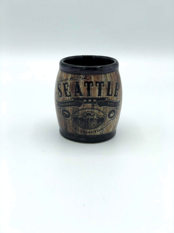 Seattle Barrel Shot Glass