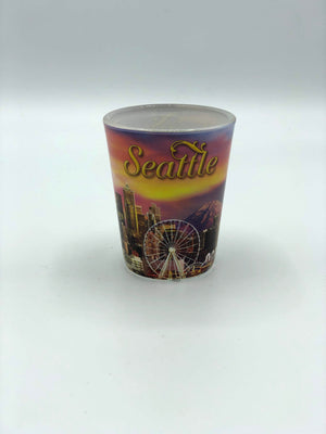Sunset Skyline Shot Glass