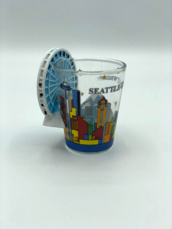 Great Wheel Shot Glass