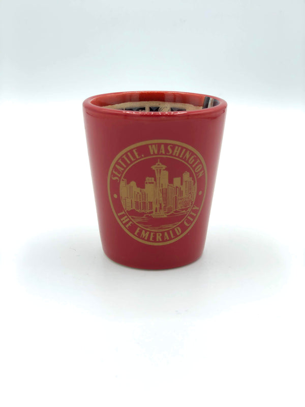 Seattle Emblem Shot Glass
