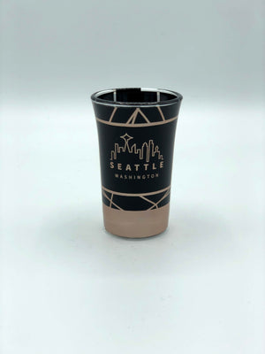 Black Skyline Shooter Shot Glass