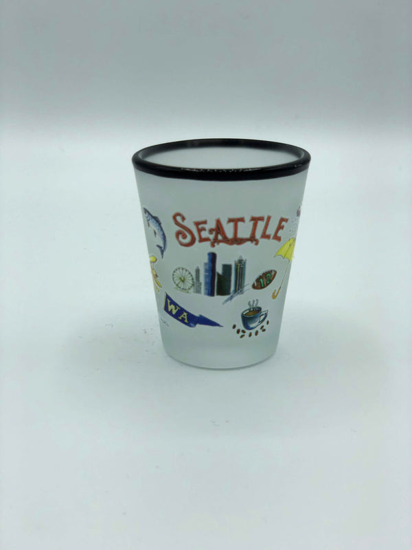 Seattle Images Shot Glass