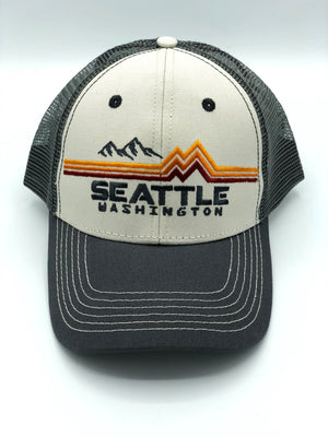 Band of Colors Grey Hat