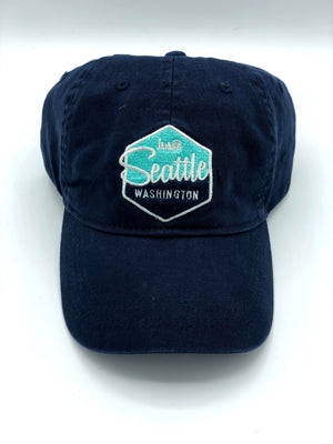 Seattle Wheel Skyline Adjustable Hat