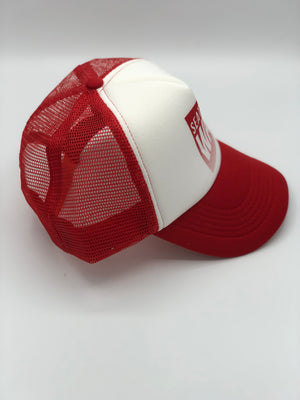 Fade Out Foam Red Hat
