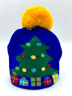 Gifts Under Tree Lit Beanie