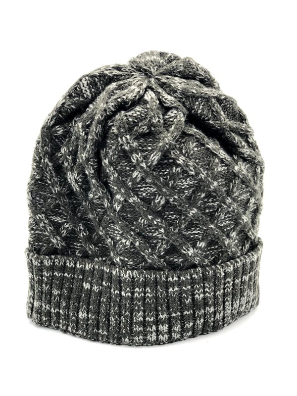 Men's Knitted Hat - Grey