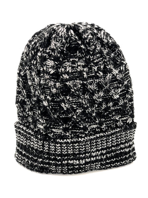 Men's Knitted Hat - Black