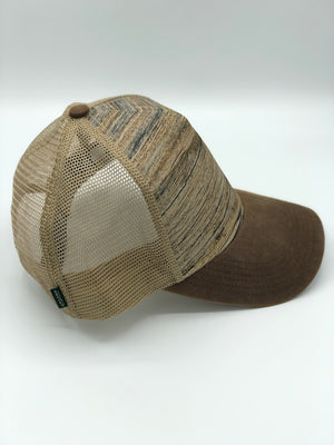 Washington All In Brown Snapback Trucker Hat