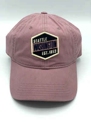 Badge 1853 Dusty Rose Adjustable Hat