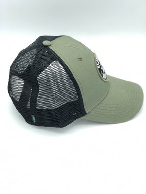 PNW Arrows Olive Snapback Trucker Hat