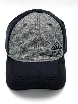 Seattle Performance Mountain Grey Adjustable Hat