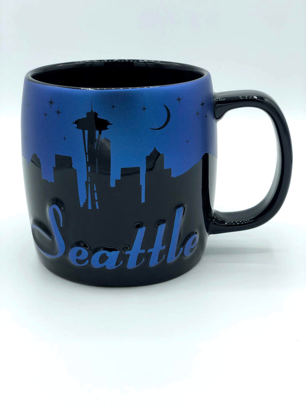 Seattle Night Sky Mug