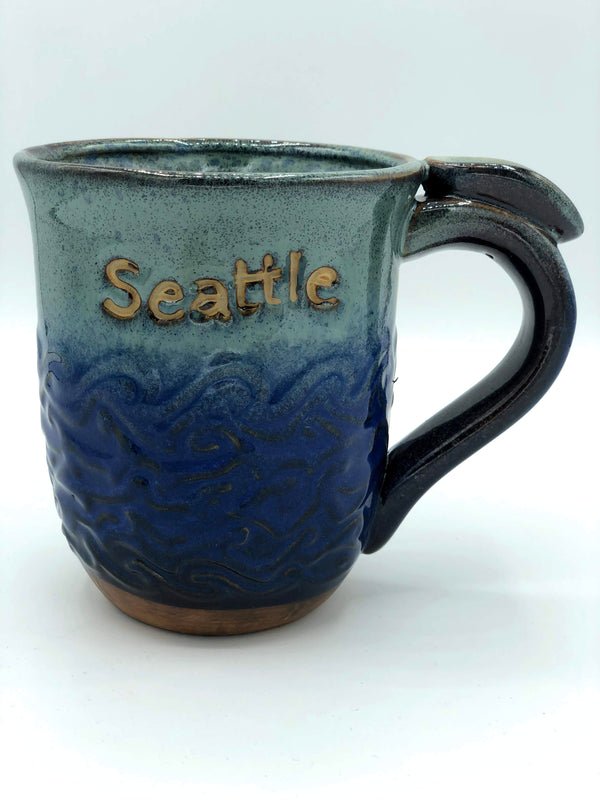Sea Painted Mug