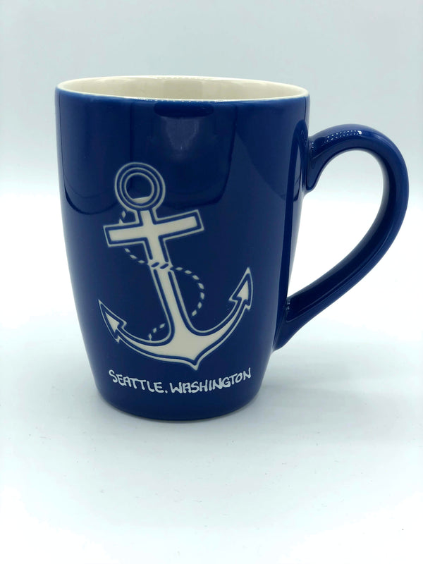 Nautical Chic Anchor Mug