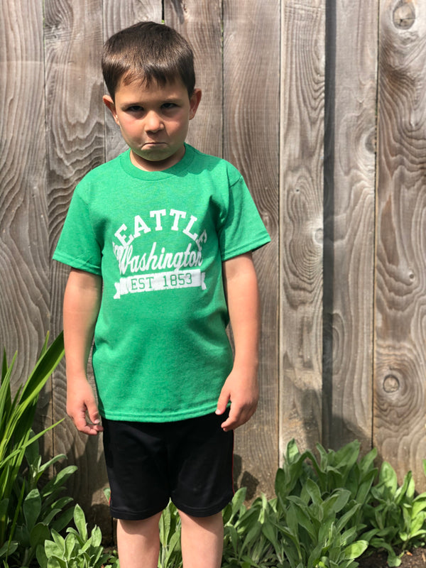 Youth Classic Seattle T-Shirt - Green