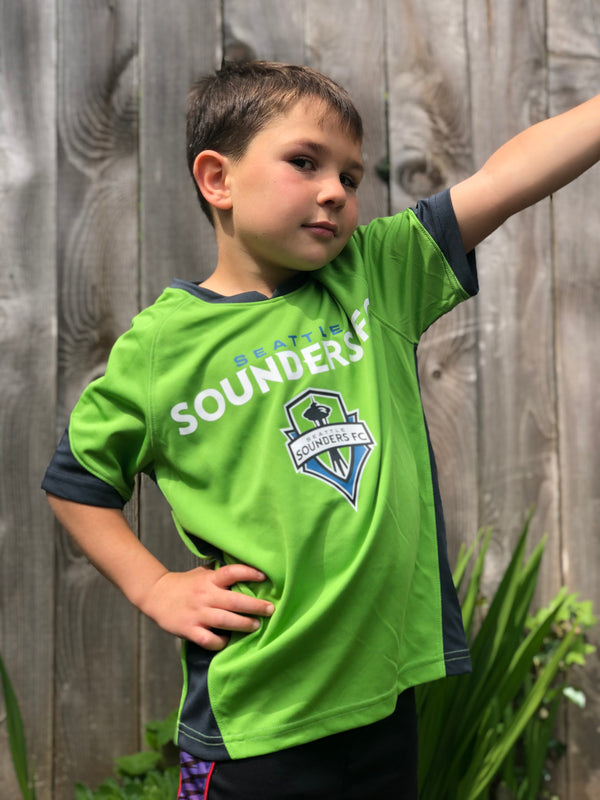 Youth Sounders Wave Striker T-Shirt