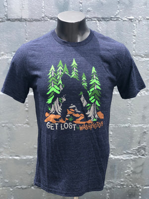Canorous Bigfoot T-Shirt - Navy