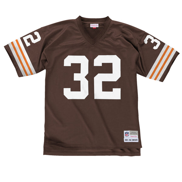 1963 Jim Brown #32 Authentic NFL Jersey