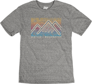 Buzzing Mountains T-Shirt - Grey
