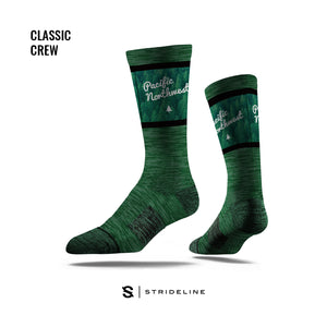 PNW Evergreen Socks