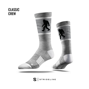 Black Sasquatch Grey Socks