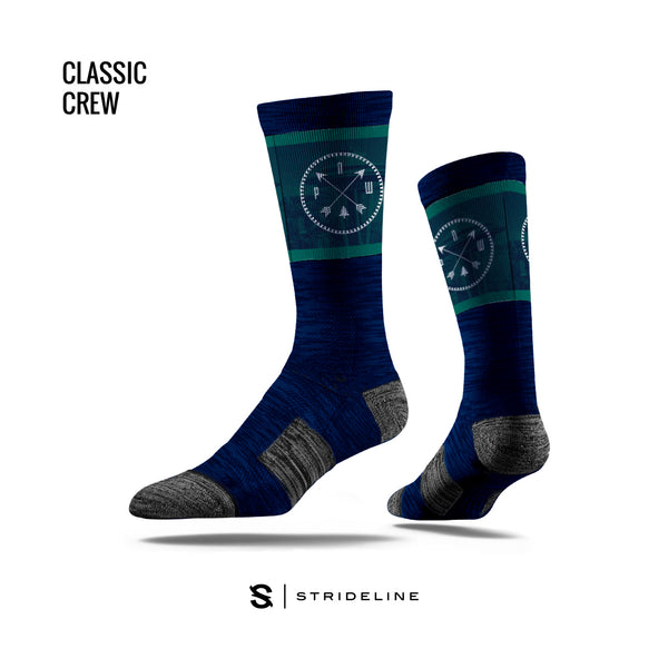 PNW Navy Socks