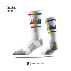 Pride Skyline Socks