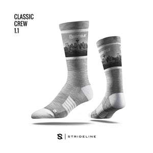 Seattle Shades Grey Socks