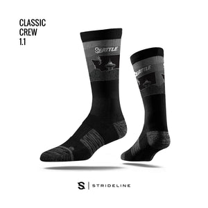 Space in State Black Socks
