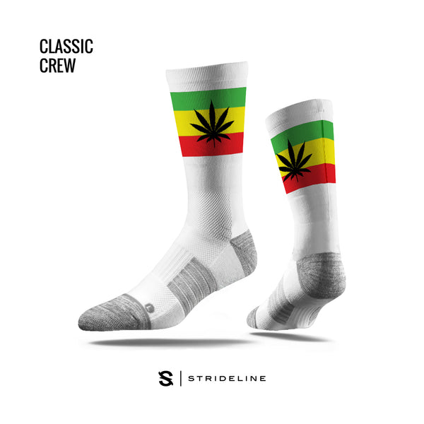 Pot Leaf Reggae Socks